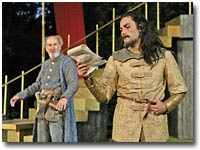 Camelot at the Open Air Theatre, Regent's Park.