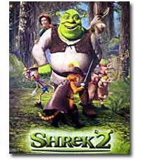 Shrek2 movie poster